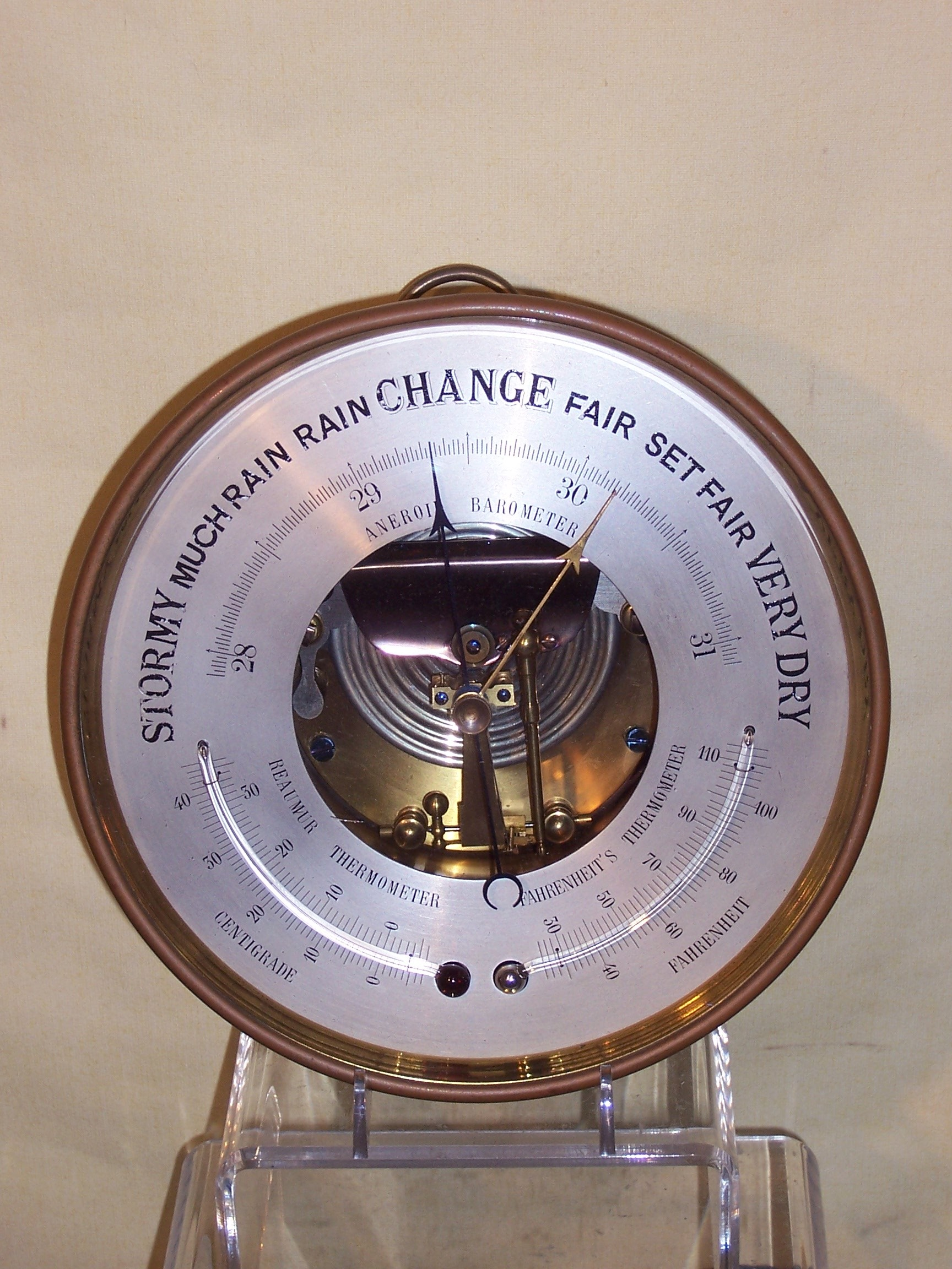 A394 Aneroid Barometer